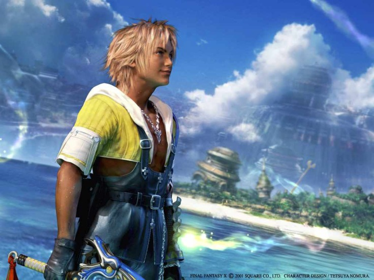 final fantasy 10 x ff10 ffx tidus wallpaper background square enix jrpg rpg japanese role playing game